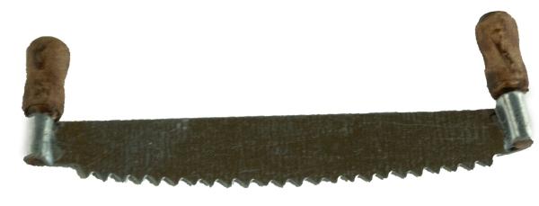 Säge groß - Krippenzubehör, ca. 2 x 6 x 0,5 cm