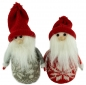 Preview: Winterlicher Wichtel Dominik 2er Set ca. 15 cm - Weihnachtsdekoration